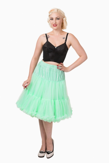 Banned Apparel Mint Green Petticoat 65 cm