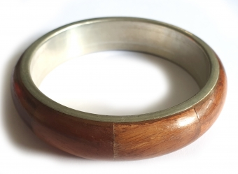 Supervintage wooden bangle / armband