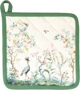 Clayre & Eef pannenlap Birds in Paradise - Botanical