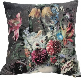 Cushion Flowers Multi 3x45x45cm