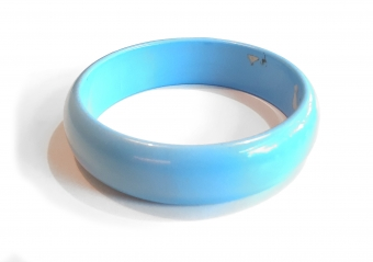 Supervintage blauwe bangle / blue bangle