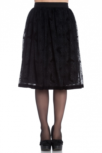 Hell Bunny black Amarande skirt