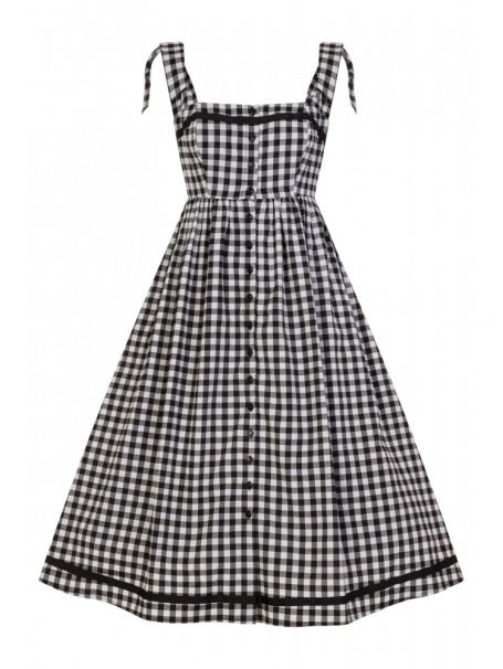 Collectif Annabel Gingham Dress