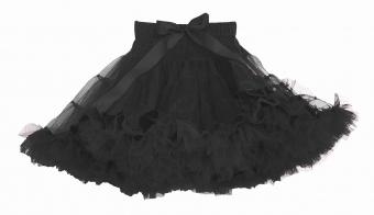Dolly and Dotty zwarte petticoat rok 45 cm