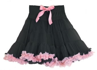 Dolly and Dotty black pink petticoat 50-55 cm