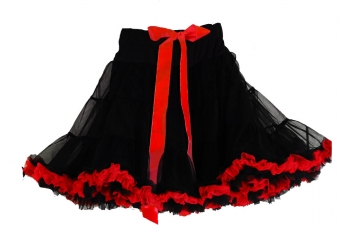 Dolly and Dotty Black red petticoat 50 - 55 cm