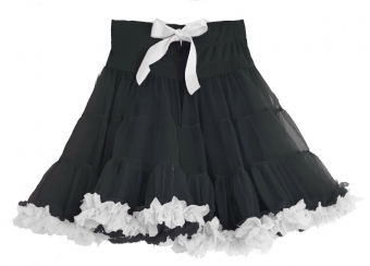 Dolly and Dotty Black white petticoat 50 - 55 cm