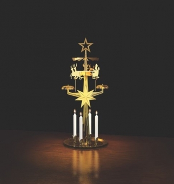 Kitchen Trend Christmas Chimes Original Swedish design kaarsen kandelaar Rendier groot goud