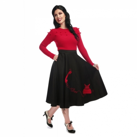 COLLECTIF MAINLINE DEBBIE CALL ME SKIRT