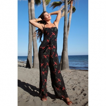 COLLECTIF MAINLINE EDDA PHOENIX JUMPSUIT