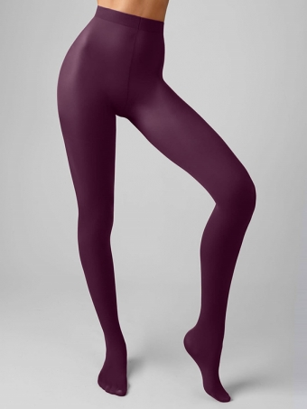 SUPERVINTAGE MATTE TIGHTS BORDEAUX 40 DEN