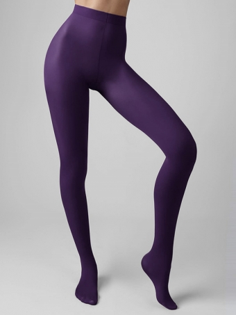 FIORE MATTE TIGHTS PLUM 40 DEN