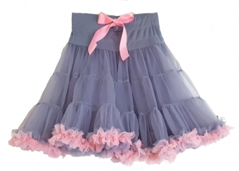 Dolly and Dotty lila roze petticoat rok 50 - 55 cm