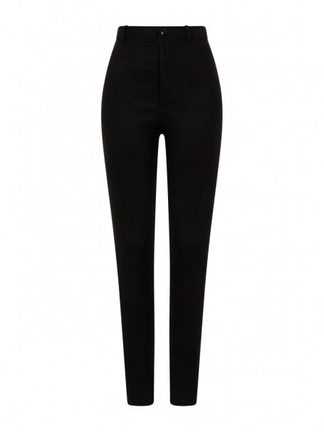 Collectif Maddie Black Trousers