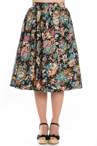 Hell Bunny Monte Carlo skirt