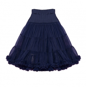 Banned Apparel Navy blue petticoat 65 cm