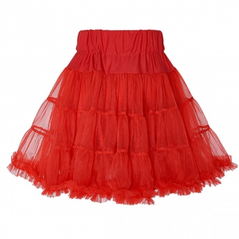Dolly and Dotty rode petticoat rok 45 cm