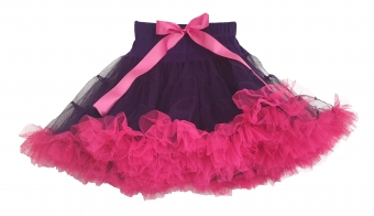 Dolly and Dotty paarse petticoat met roze 50 cm
