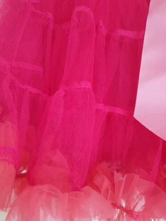 Dolly and Dotty fuchsia pink budget petticoat 60 cm