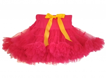 Dolly and Dotty hot pink petticoat kort model 35 cm