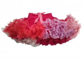 Dolly and Dotty pretty in pink rainbow petticoat rok 50 cm