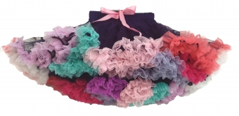 Dolly and Dotty purple rainbow petticoat 50 cm