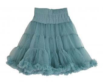 Dolly and Dotty Nylon Fluffy Short Petticoat 53cm/21 Inches in Sea Green 50-55 cm