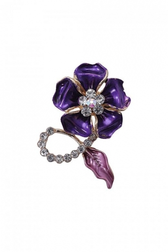 COLLECTIF SALLY FLOWER BROOCH