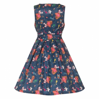 Lindy Bop Sofia Graffiti Dress