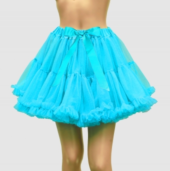 Dolly and Dotty petticoat rok turquoise 45 cm